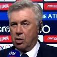 """Ancelotti a Sky: """"Ritorno di Quagliarella? Nella vita tutto è possibile: non seguiamo 60 nomi. Nazionalità del colpo più importante del prossimo mercato? La so, ma non la dico!"""" [VIDEO]"""