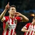 Lozano-Napoli, Gazzetta - Ancelotti lo vuole: il PSV chiede 40mln, ADL studia la formula