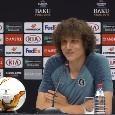 """David Luiz punge Sarri in conferenza: """"Ama più voi giornalisti che noi"""" [VIDEO]"""