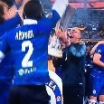 Il Chelsea vince l'Europa League, Sarri pazzo di gioia durante la premiazione [VIDEO]