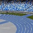 Proseguono i lavori: il nuovo stadio San Paolo prende forma! [FOTOGALLERY]
