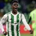 CN24 - Il Betis abbassa le pretese per Junior Firpo ma nessuna offerta dal Napoli, sul calciatore anche il Barcellona