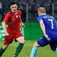 Il Portogallo travolge la Lituania e vince 5-1: Mario Rui resta in panchina