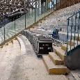Allo stadio San Paolo sono arrivati i maxi schermi: è un giorno storico [FOTOGALLERY]