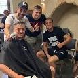 Zielinski si sposa, la famiglia e i preparativi col barbiere [FOTO]
