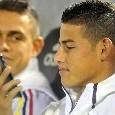 Copa America, le formazioni ufficiali di Colombia-Paraguay: James Rodriguez in panchina