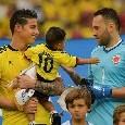 """James Rodriguez dopo il ko con la Colombia: """"Bisogna andare avanti, abbiamo dato tutto"""" [FOTO]"""