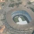 Nuovo San Paolo, visto dall'alto è bellissimo: immagini scattate da un aeroplano[FOTO]