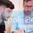 Manolas è del Napoli, ecco il momento della firma sul contratto [FOTO ESCLUSIVA]