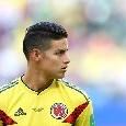 Coppa America, James della Colombia è il miglior assist-man della competizione