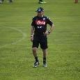 Esercitazioni tattiche per i ragazzi di Ancelotti: sul campo di Carciato si prova il 4-2-3-1