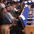 Show di Gino Rivieccio a Dimaro, presente a teatro anche De Laurentiis [FOTO]