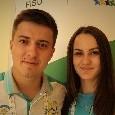 Universiade, dal Kazakistan con amore: lei salta, lui l'allena