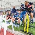 Gli azzurri hanno visto a bordocampo la sfida Nadal-Federer: sguardi attenti di Mertens e Zielinski [FOTO]