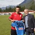 """De Laurentiis a Maggio: """"Hai onorato la maglia che hai indossato, purtroppo non c'è stato l'ultimo giro di campo..."""" [FOTO CN24]"""