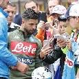 Il Roma - Il Napoli ha messo in piedi un'operazione simpatia per Insigne, Lorenzo dimostra di voler ricucire il rapporto con il pubblico