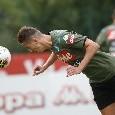 CorSport - Ancelotti e De Laurentiis puntano tutto su Milik: l'attaccante sta svolgendo allenamenti spefici in area di rigore
