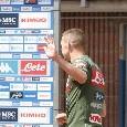 Rog saluta il Napoli: lascia Carciato fra gli applausi dei tifosi [FOTO & VIDEO CN24]