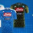 Presentate la seconda e terza maglia Napoli [FOTOGALLERY]