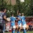 Napoli-Feralpisalò 5-0 (6'pt Manolas, 8'st e 17'st Verdi, 14'st Tonelli, 39'st Tutino): termina la partita! Prima vittoria stagionale degli azzurri