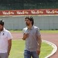 Dimaro, sul campo a Carciato arriva Damiano Tommasi: il presidente dell'AIC raggiunge Ancelotti [FOTO CN24]