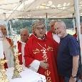 """Dimaro 2019 - Mattina Giorno 20, Cardinale Sepe: """"Consegno un dono al presidente, sarà più ricco con lo scudetto"""""""