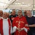 Dimaro 2019, il cardinale Sepe incontra De Laurentiis e Ancelotti [FOTO CN24]