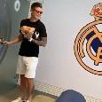 James Rodriguez sorridente al centro d'allenamento del Real Madrid, risate e sfottò con Marcelo [VIDEO]