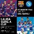 Barcellona-Napoli - Come comprare la partita amichevole su Sky Sport? Partita non visibile in streaming!