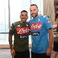 """Allan e Ospina di nuovo a disposizione di Ancelotti, la SSC Napoli: """"Welcome Back!"""" [FOTO]"""