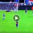 Sintesi Napoli-Barcellona 1-2: gol di Busquets, Umtiti (aut.) e Rakitic [VIDEO]