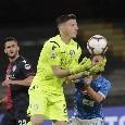 Tegola Cagliari, Cragno fermo 2 mesi: salterà anche la gara col Napoli