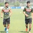 Lozano rimanda la partenza per l'Olanda? E' a Castel Volturno ad allenarsi con la squadra [VIDEO]