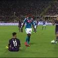 """Da Firenze attaccano: """"Koulibaly ha sputato addosso a Sottil"""", ma l'immagine smentisce [FOTO]"""