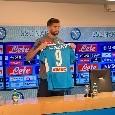"""Llorente: """"Tante offerte, ho aspettato tre mesi Napoli e Champions! Darò il cuore, spero di fare gol per i tifosi. Fabián diventerà un campione, Ancelotti m'ha convinto subito! Scudetto? La pressione è sulla Juve"""" [VIDEO CN24]"""