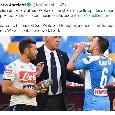 """Ancelotti su Twitter: """"Felice di tornare al San Paolo e di mostrare un bello spettacolo ai tifosi"""" [FOTO]"""