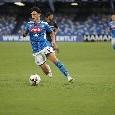 Elmas supera tre uomini e poi calcia di un soffio al lato, il Napoli esalta la giocata del macedone contro il Brescia su Twitter [VIDEO]