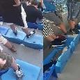 sediolini stadio san paolo tifosi in piedi