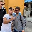 Napoli in partenza per Lecce: raduno al San Paolo e volo da Capodichino [FOTO & VIDEO CN24]