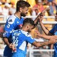Pagelle Lecce-Napoli: Llorente <i>che utilità</i>! Fabián <i>celestiale</i>, Ghoulam fa ben sperare. Elmas <i>nervoso</i>, Milik <i>da rivedere</i>
