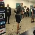 Infortunio Maksimovic, il difensore lascia il San Paolo in stampelle [FOTO]