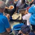 San Paolo, distribuite lasagne sugli spalti [FOTOGALLERY]