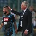 Torino-Napoli, Sky: Ancelotti cambia modulo! Si torna al 4-3-3: Callejon favorito su Lozano