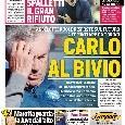 """Corriere dello sport in prima pagina: """"Ancelotti-Napoli, nuovi passi indietro spingerebbero verso il divorzio a fine stagione"""" [FOTO]"""