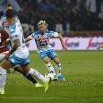 RILEGGI LIVE - Torino-Napoli 0-0: termina la partita! Pari <i>amaro</i>, gli azzurri non sanno più segnare
