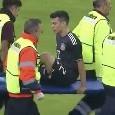 Infortunio per Lozano: esce in barella dal campo! Aggiornamento AS: lo staff medico del Messico non ha rilevato alcuna lesione