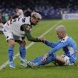 Il Mattino - Il Napoli torna al successo senza brillare nel gioco: primo tempo <i>quasi</i> da dimenticare