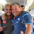 """Mertens rivede Starace: """"Grazie, mi regali sorrisi in questo brutto periodo"""" [VIDEO]"""