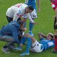 UFFICIALE - Infortunio Malcuit, lesione del legamento crociato anteriore e del menisco mediale del ginocchio destro. Domani sarà a Villa Stuart
