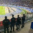 Questura, stangata ai tifosi: dieci DASPO e 32 multe! Uso di stupefacenti e rapine al San Paolo
